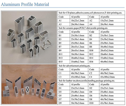 Aluminum Screen Frames